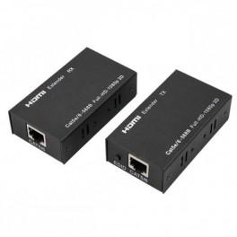 VSS HDMI-60, HDMI signalo prailgintuvas (komplektas), iki 60m