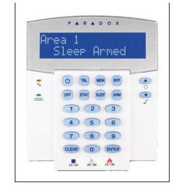 K641 LCD klaviatūra